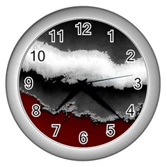 Ombre Wall Clocks (silver)  by ValentinaDesign