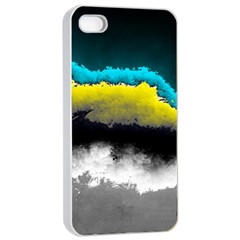 Ombre Apple Iphone 4/4s Seamless Case (white) by ValentinaDesign
