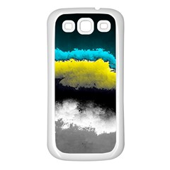 Ombre Samsung Galaxy S3 Back Case (white) by ValentinaDesign