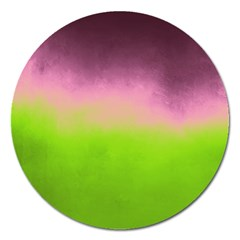 Ombre Magnet 5  (round) by ValentinaDesign