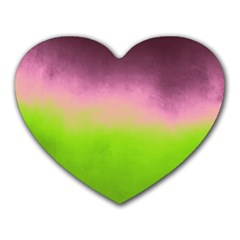 Ombre Heart Mousepads by ValentinaDesign