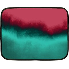 Ombre Double Sided Fleece Blanket (mini)  by ValentinaDesign
