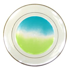Ombre Porcelain Plates by ValentinaDesign