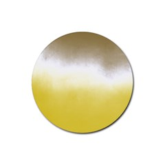 Ombre Rubber Coaster (round)  by ValentinaDesign