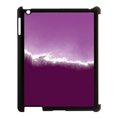 Ombre Apple Ipad 3/4 Case (black) by ValentinaDesign