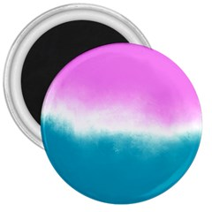 Ombre 3  Magnets by ValentinaDesign