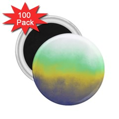 Ombre 2 25  Magnets (100 Pack)  by ValentinaDesign