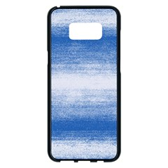 Ombre Samsung Galaxy S8 Plus Black Seamless Case by ValentinaDesign