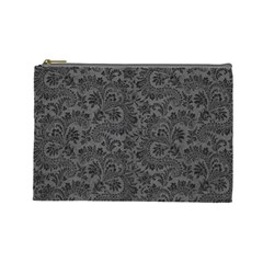 Floral Pattern Cosmetic Bag (large)  by ValentinaDesign