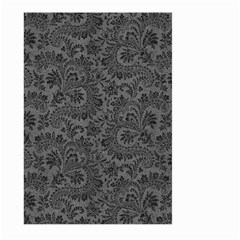 Floral Pattern Large Garden Flag (two Sides) by ValentinaDesign