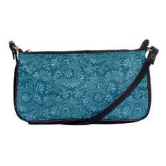 Floral Pattern Shoulder Clutch Bags by ValentinaDesign