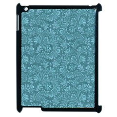 Floral Pattern Apple Ipad 2 Case (black) by ValentinaDesign