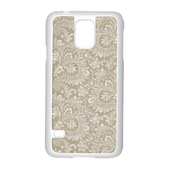 Floral Pattern Samsung Galaxy S5 Case (white) by ValentinaDesign