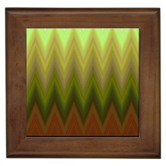 Zig Zag Chevron Classic Pattern Framed Tiles