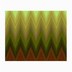 Zig Zag Chevron Classic Pattern Small Glasses Cloth by Nexatart