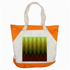 Zig Zag Chevron Classic Pattern Accent Tote Bag by Nexatart