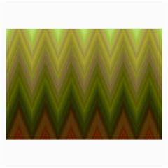 Zig Zag Chevron Classic Pattern Large Glasses Cloth (2 Side) by Nexatart