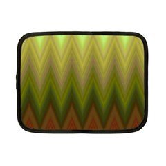 Zig Zag Chevron Classic Pattern Netbook Case (small)  by Nexatart