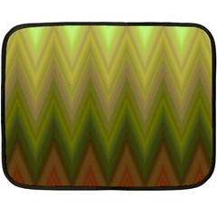 Zig Zag Chevron Classic Pattern Fleece Blanket (mini)