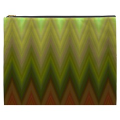 Zig Zag Chevron Classic Pattern Cosmetic Bag (xxxl)  by Nexatart