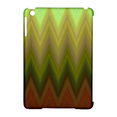 Zig Zag Chevron Classic Pattern Apple Ipad Mini Hardshell Case (compatible With Smart Cover) by Nexatart