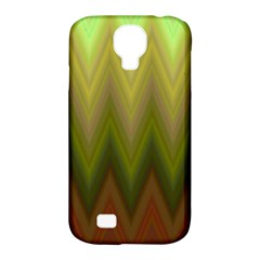 Zig Zag Chevron Classic Pattern Samsung Galaxy S4 Classic Hardshell Case (pc+silicone) by Nexatart