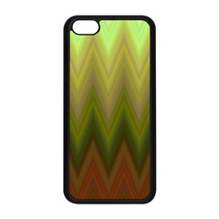 Zig Zag Chevron Classic Pattern Apple Iphone 5c Seamless Case (black) by Nexatart