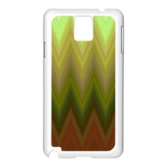 Zig Zag Chevron Classic Pattern Samsung Galaxy Note 3 N9005 Case (white)