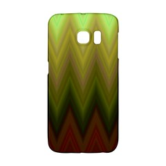Zig Zag Chevron Classic Pattern Galaxy S6 Edge by Nexatart