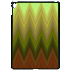 Zig Zag Chevron Classic Pattern Apple Ipad Pro 9 7   Black Seamless Case by Nexatart