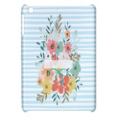 Watercolor Bouquet Floral White Apple Ipad Mini Hardshell Case by Nexatart