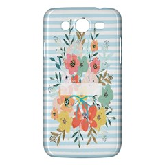 Watercolor Bouquet Floral White Samsung Galaxy Mega 5 8 I9152 Hardshell Case