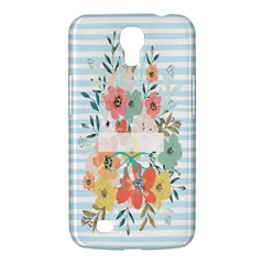 Watercolor Bouquet Floral White Samsung Galaxy Mega 6 3  I9200 Hardshell Case