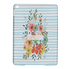 Watercolor Bouquet Floral White Ipad Air 2 Hardshell Cases by Nexatart