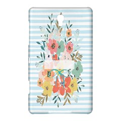 Watercolor Bouquet Floral White Samsung Galaxy Tab S (8 4 ) Hardshell Case  by Nexatart