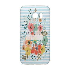 Watercolor Bouquet Floral White Galaxy S6 Edge