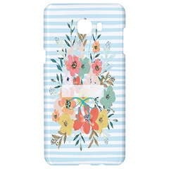 Watercolor Bouquet Floral White Samsung C9 Pro Hardshell Case  by Nexatart