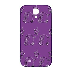 Pig Star Pattern Wallpaper Vector Samsung Galaxy S4 I9500/i9505  Hardshell Back Case by Nexatart