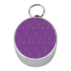 Pig Star Pattern Wallpaper Vector Mini Silver Compasses