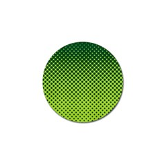 Halftone Circle Background Dot Golf Ball Marker (10 Pack) by Nexatart
