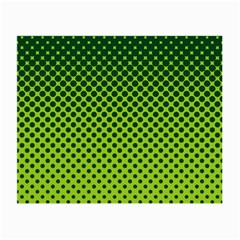 Halftone Circle Background Dot Small Glasses Cloth (2 Side)