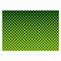 Halftone Circle Background Dot Large Glasses Cloth by Nexatart