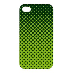Halftone Circle Background Dot Apple Iphone 4/4s Hardshell Case