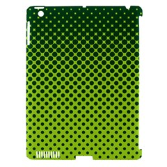 Halftone Circle Background Dot Apple Ipad 3/4 Hardshell Case (compatible With Smart Cover) by Nexatart