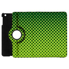 Halftone Circle Background Dot Apple Ipad Mini Flip 360 Case