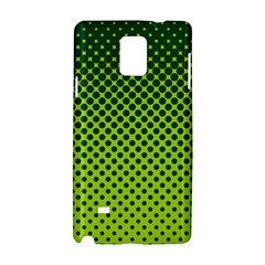 Halftone Circle Background Dot Samsung Galaxy Note 4 Hardshell Case by Nexatart