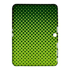 Halftone Circle Background Dot Samsung Galaxy Tab 4 (10 1 ) Hardshell Case  by Nexatart