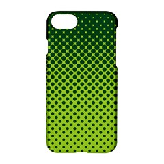 Halftone Circle Background Dot Apple Iphone 7 Hardshell Case