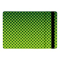 Halftone Circle Background Dot Apple Ipad Pro 10 5   Flip Case