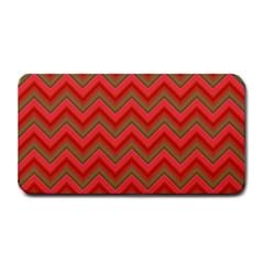 Background Retro Red Zigzag Medium Bar Mats